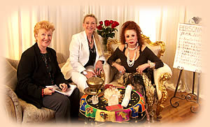 Daphne Diane and Jackie Stallone